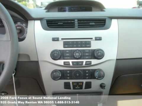 2008 Ford Focus, $12771 at Sound National Lending in Renton, WA