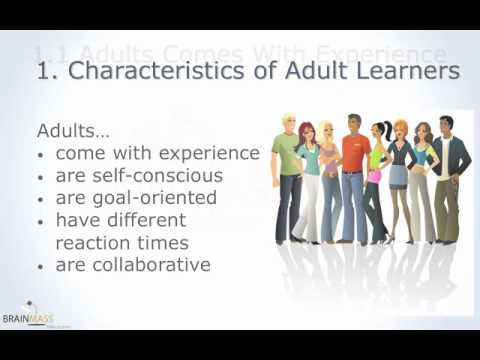 Adult Learning Techniques (part 1 of 6)