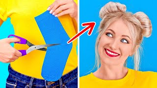 AWESOME HACKS TO SOLVE ALL YOUR PROBLEMS || New Girly Hacks by 123 GO!