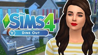 Let's Play: Sims 4 Dine Out | Part 1 | Milly's Place