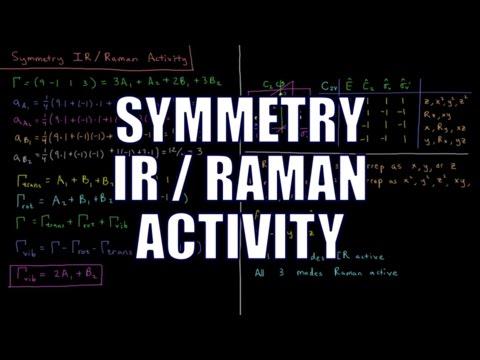 Quantum Chemistry 12.16 - Symmetry IR / Raman Activity
