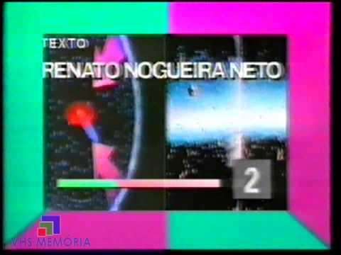 Abertura Cometa Alegria - Rede Manchete (1990)