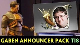 Gaben ANNOUNCER PACK — Half-Life 3 confirmed