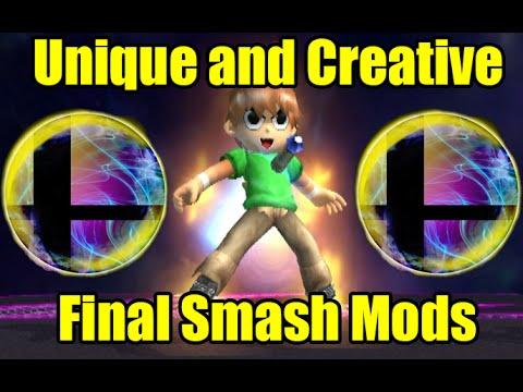 UNIQUE, CREATIVE And DESTRUCTIVE Final Smash Mods In Super Smash Bros Brawl/Project M