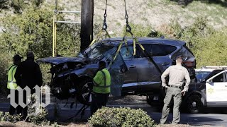 L.A. Sheriff's Department offers update on Tiger Woods crash