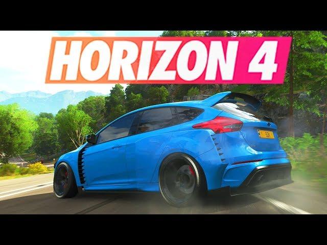 Forza Horizon 4 - CUSTOMISATION FORD FOCUS RS WIDEBODY KIT DRIFT !!