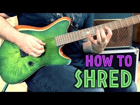 HOW TO SHRED - 3 essential exercises for speed & accuracy