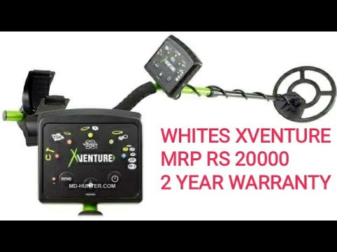 WHITES XVENTURE GOLD DETECTOR AIR TEST IN INDIA