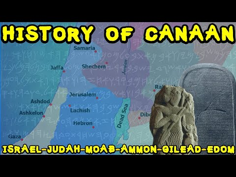 History Of Ancient Canaan - Early Iron Age Kingdoms Of Israel, Judah, Moab, Ammon, Gilead And Edom