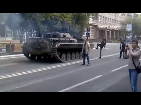 Ukraine War - Russian subversives attempt to seize Mariupol Ukraine