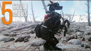 Robot Dogs - 5 Cool Mods - Episode 57 - Fallout 4 Mods (PC/Xbox One)