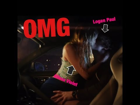 Logan Paul Kissed Alissa Violet In The Second Verse Of His Diss Track Against Jake Paul