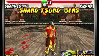Mortal Kombat: Tournament Edition (Game Boy Advance) Arcade as Shang Tsung