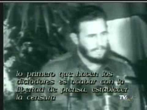 FIDEL CASTRO MIENTE AL PUEBLO DE CUBA EN 1959