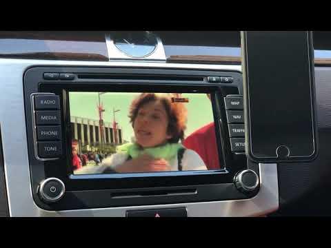 Цифровое телевидение в Пассат Б7 Аллтрак на Оригинальном ГУ РНС-510 - можно ☝🏼