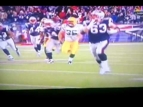 Dan connolly patriots #63 kick return 71 yard longest in history best run ever!!