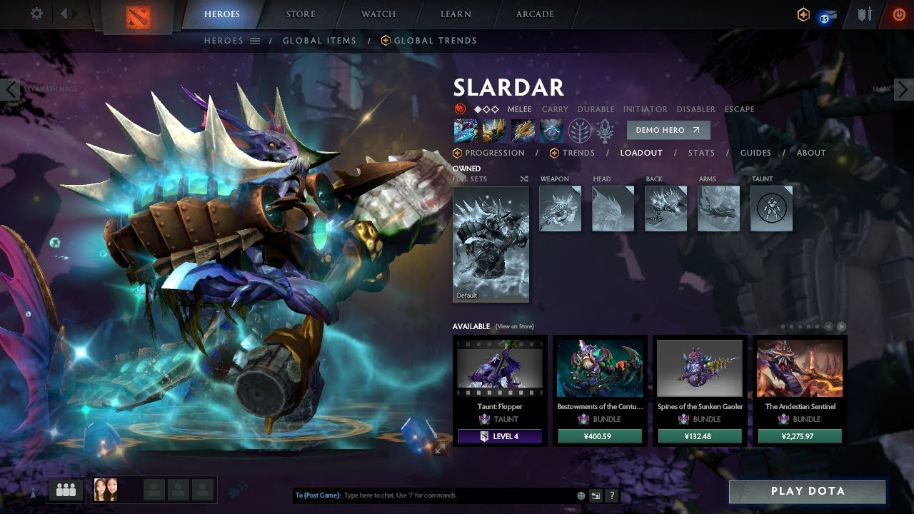 Mod Dota 2 Patch 2019 All Hero