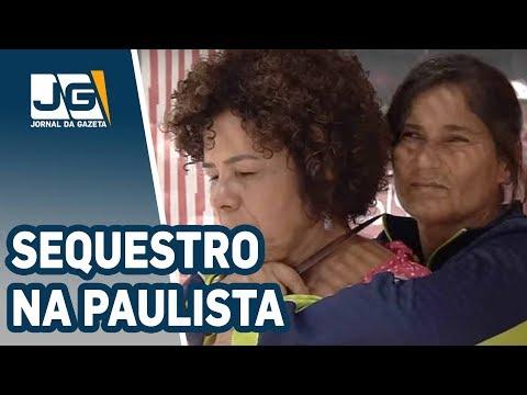 Sequestro em ponto de ônibus da Paulista