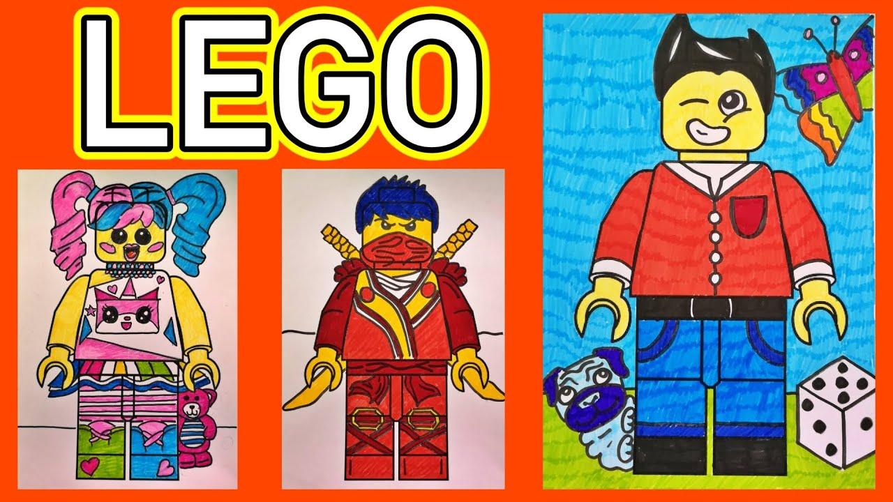 LEGO POPPETJE - TEKENEN met meester Richard