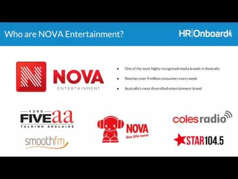 The NOVA Entertainment Onboarding Process with HROnboard