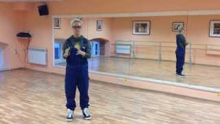 АСТ урок танца №3 FlashMob Парад Halloween 2013 в ТРК Альтаир