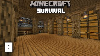 Minecraft: Epic Storage Room! - 1.15 Survival Let's play | Ep 8