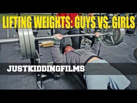 Lifting Weights: Guys Vs. Girls