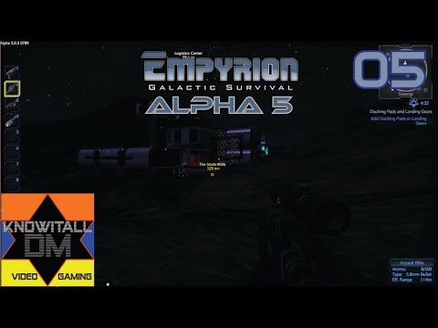 Empyrion Galactic Survival - Alpha 5 - (5) Logistics Center and Farm
