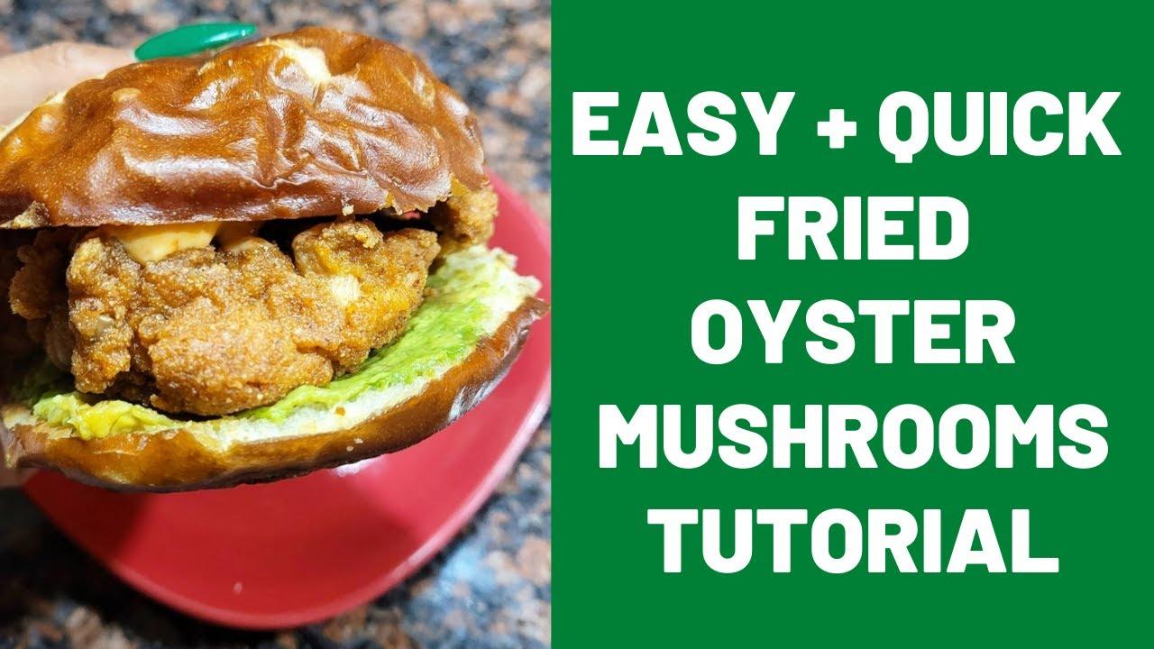 Tantalizing Fried Oyster Mushrooms