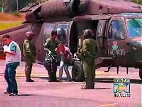 Mina antipersona en Guadalupe (Antioquia)