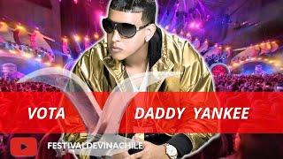 VOTA DADDY YANKEE: Fans votan por el artista más popular de la historia del #FESTIVALDEVIÑA