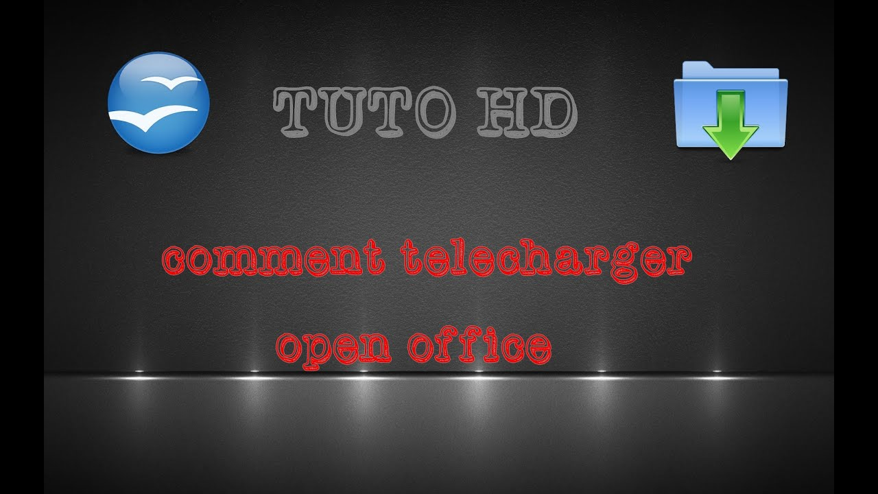 Comment t l charger et installer open office youtube - Comment installer open office gratuitement ...