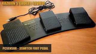 Kazujin's Gadget - PCSensor's 3-Switch Foot Pedal