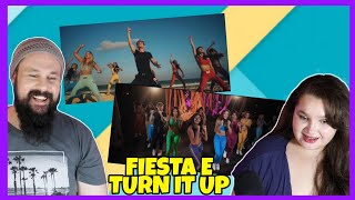 REAÇÃO DUPLA: NOW UNITED FIESTA E TURN IT UP (REAGINDO)