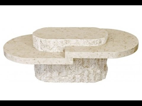Stone Coffee Table - Stone Coffee Table - YouTube