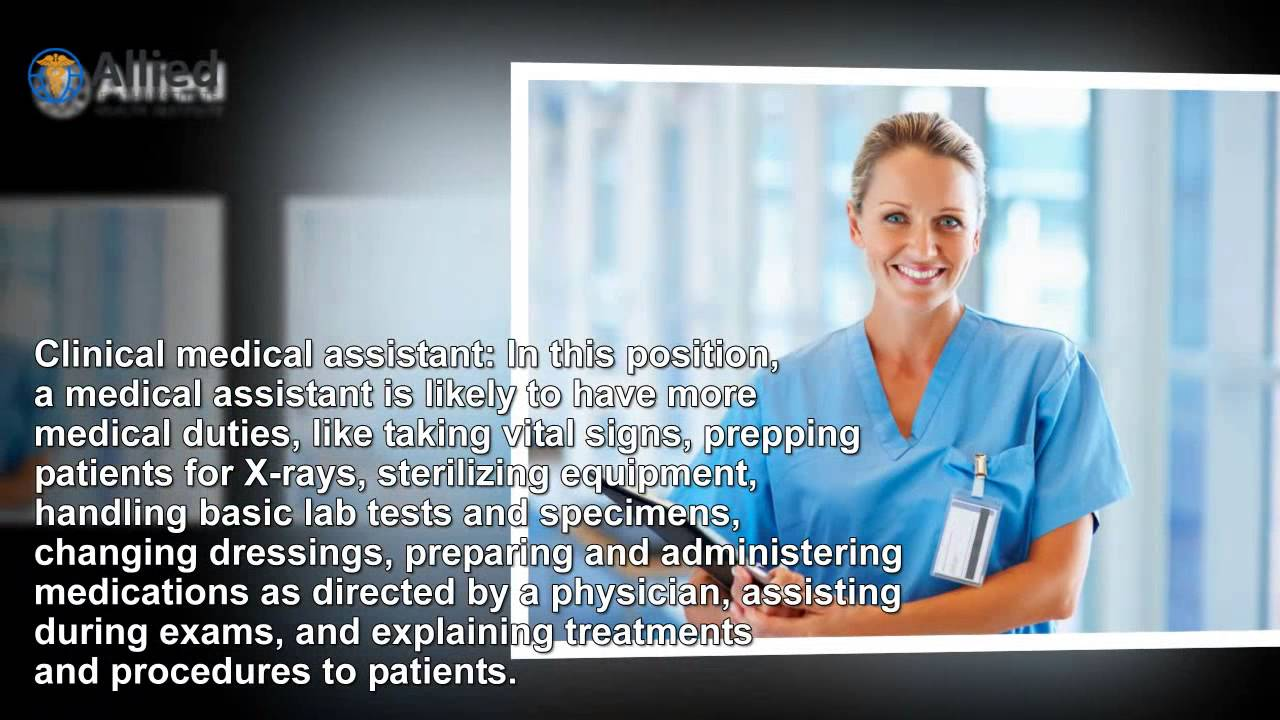 types of medical assistant jobs