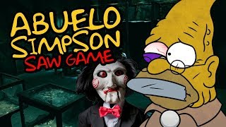 ABUELO SIMPSON SAW GAME ⭐️ iTownGamePlay