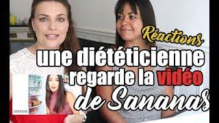 Une diététicienne visionne et commente la vidéo nutrition de Sananas