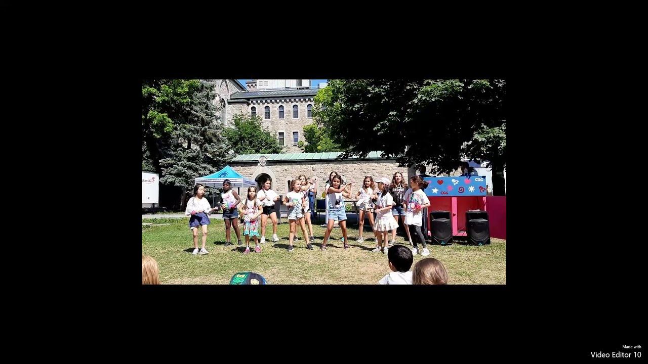 Défilé camp Flash-mode - Semaine 5 - Cégep Gérald-Godin