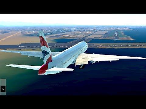 Infinite Flight Global Boeing 777-300ER London - Tokyo ( 11h 28min) , Expert Server