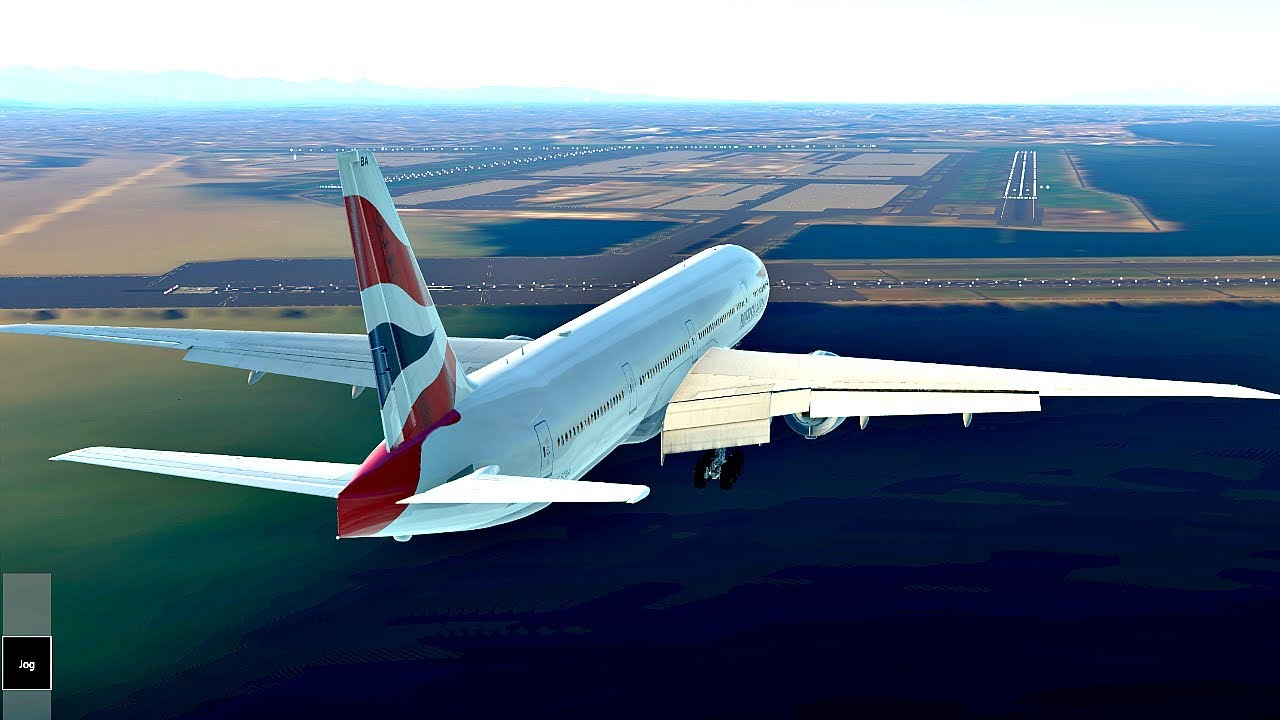 how to fly boeing 777