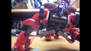 Transformers prime optimus prime transform!!!(stop