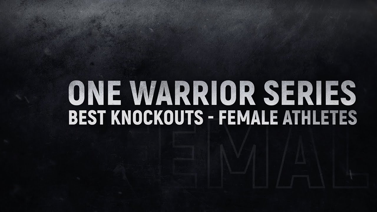 Rich Franklin's ONE Warrior Series | Best Knockouts From Female Athletes