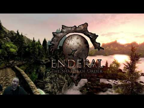 Streaming Skyrim - Enderal! - Episode 11 - Living Temple! Trains! and new World map!!