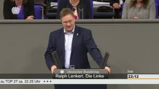 Ralph Lenkert, DIE LINKE: Gentechnik – Segen und Fluch zugleich
