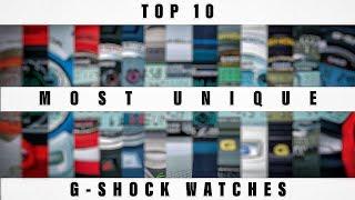 TOP 10 MOST UNIQUE G-SHOCK WATCHES
