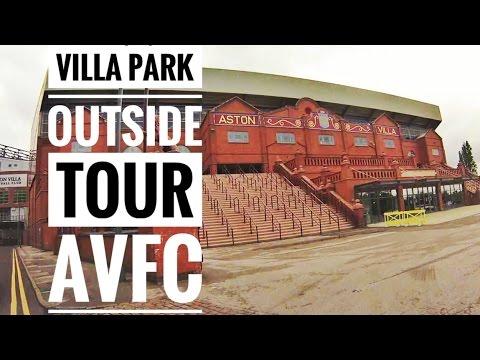 Aston Villa, Villa Park. A Fast Tour of Villa Park from the Car
