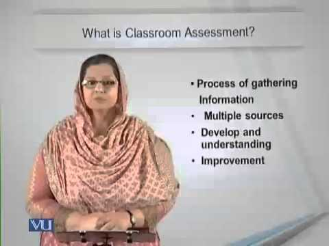Lecture 2 (EDU405 – Classroom Assessment)