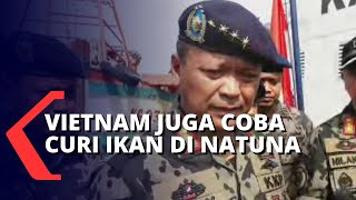 Sempat Mendapat Perlawanan Sengit, KKP Tangkap 3 Kapal Vietnam di Laut Natuna