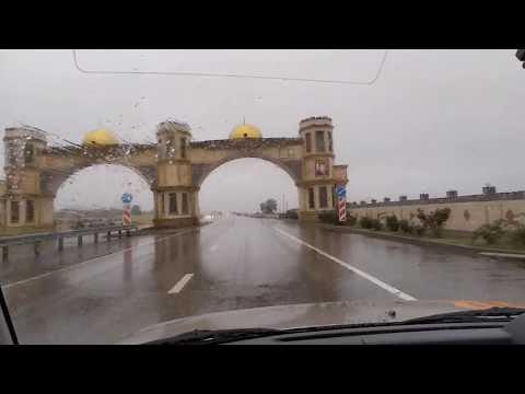 Въезд в город Гудермес, сентябрь 2019   туризм в Чечне